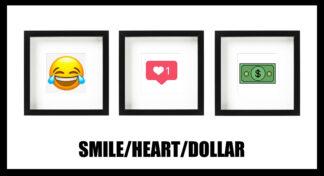 SMILE HEART DOLLAR